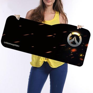 Overwatch Large Mouse Pad 730*330mm Speed Locking Edge Keyboards Mat Rubber Gaming Mouse Pad Desk Mat for Overwatch