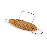 Helen Bamboo Bath Tub Caddy