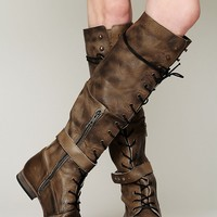 Free People Womens Landmark Lace Up Boot -