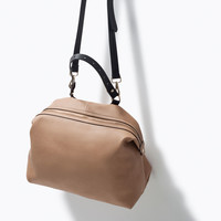 BAG WITH HANDLE AND STRAP New