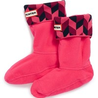 Girl's Hunter 'Geometric Dazzle' Welly Socks,
