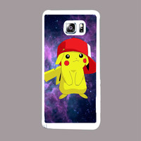 Pikachu Pokemon 6f8b010f-e82a-48f5-8295-8fb54a5d1f22 for Samsung Galaxy Note 5 Case *NP*