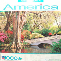 Magnolia Gardens South Carolina Puzzle New Atlantic Coast America Series