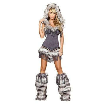 Roma Costume 4427 Native American Temptress