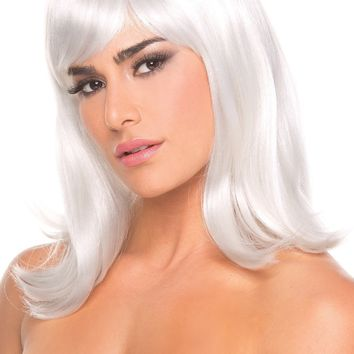 Doll Wig White