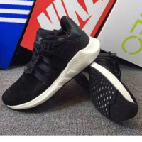 "Women ""Adidas"" Equipment EQT Support ADV Casual Sports Shoes black"