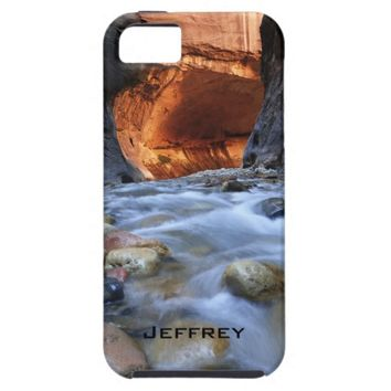 iPhone SE/5/5s Case, Personalized, Zion Narrows iPhone SE/5/5s Case