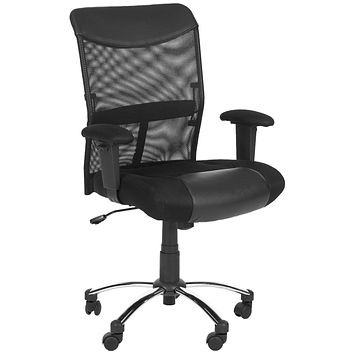 Bernard Desk Chair Black