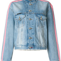 Philipp Plein Tiger Embroidered Denim Jacket - Farfetch