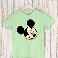 Mickey Mouse head Iron on Patch Mickey Mouse embroidery applique Disney iron on patch Mickey Mouse iron on decals transfers sticker ikpa49
