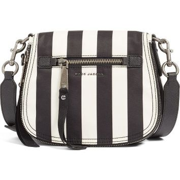 MARC JACOBS Trooper - Stripes Small Nylon Crossbody Bag | Nordstrom