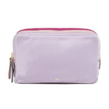 Stack Triple Makeup Pouch