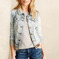 Pilcro Classic Denim Jacket Sunbathing