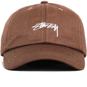 Suiting Low Pro Cap Khaki Brown