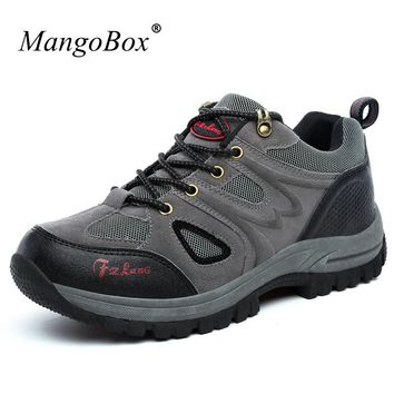 Men's Hiking Shoes Outdoor Sports Boots Big Size Mountain Climbing Boots Spring/Autumn Outdoor Trekking Sneakers Men