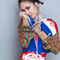 GUCCI GG technical jersey jacket +GG technical jersey jogging pant