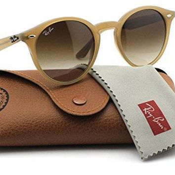 Ray-Ban RB2180 616613 Round Turtledove Frame / Brown Gradient Lens 49mm