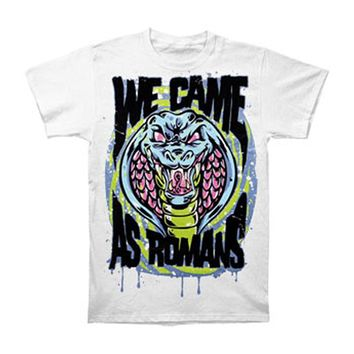 We Came As Romans Men's  Cobra T-shirt White Rockabilia