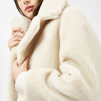 Polar Bear Cocoon Coat