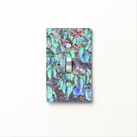 Tree Leaves Drawing Light Switch Cover