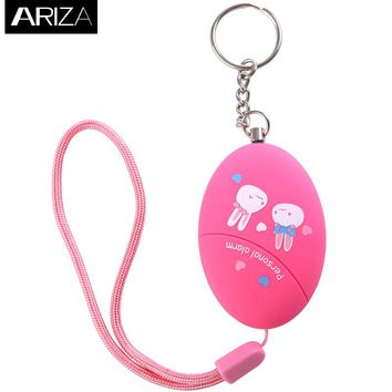 2017 new model personal keychain alarm accept customized for  self defense