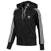 """Adidas"" Women Fashion Hooded  Zip Cardigan Jacket Coat Sweatshirt"