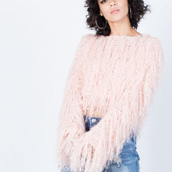 Furry Statement Sweater