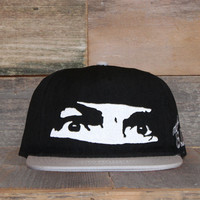 All Eyez On Me Unstructured Baseball Hat Black