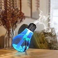 Cool Humidifier USB Portable Desktop LED Color Night Lights Diffuser Mist Air Purifier Office Room Gift