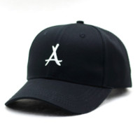 LETTER A Snapback Adjustable Flat Hip-Hop Hat Baseball Cap