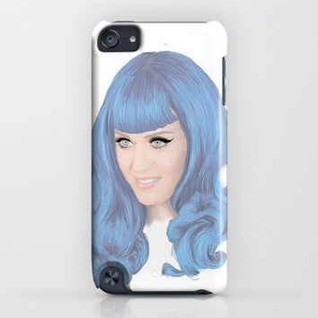 Katy Perry iPhone & iPod Case by Grace Welburn