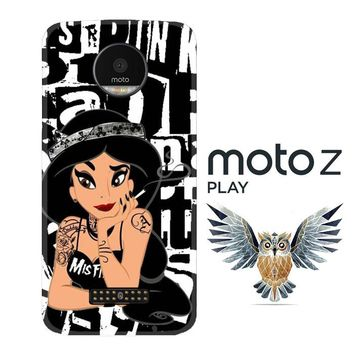 JASMINE PUNK ART Y2780 Motorola Moto Z Play Case