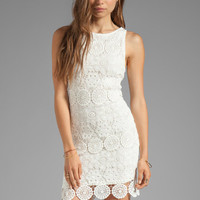 Sanctuary Modern Nomad Lace Shift Dress in White from REVOLVEclothing.com