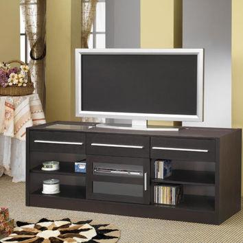 Coaster Fine Furniture Cappuccino Tv Console Cappuccino 700650
