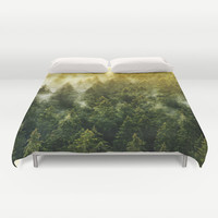 Don't Wake Me Up Duvet Cover by Tordis Kayma