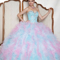 Rainbow Quinceanera Dresses Ball Gowns Alternative Measures - Brides & Bridesmaids - Wedding, Bridal, Prom, Formal Gown