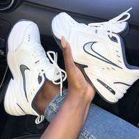 Nike Air Monarch IV M2K Tekno Air cushion leisure shoes