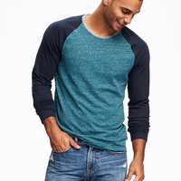 Soft-Washed Raglan Tee for Men | Old Navy