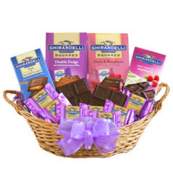 Ghirardelli Chocolate Heaven Gift Basket - Kmart