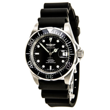 Invicta 9110 - Black Automatic Jelly Diver
