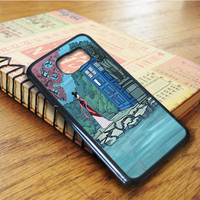 Meet Mulan Tardis Doctor Who Samsung Galaxy S6 Edge Case