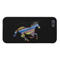 Chromatic Geometric Rainbow Unicorn iPhone SE/5/5s Cover