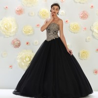 Long Ball Gown Formal Quinceanera