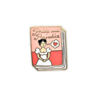 Pride and Prejudice Book Pin
