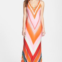 FELICITY & COCO Multi Stripe Racerback Jersey Dress (Nordstrom Exclusive) (Regular & Petite)