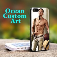 Channing Tatum  - Print on Hard Cover iPhone 5 Black Case