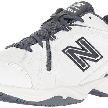 CREYON new balance men s 608v4 comfort pack training cross trainer shoe white outerspace 16 4e us