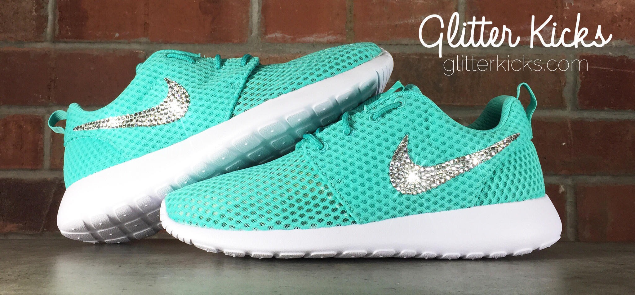 Nike Roshe One Customized by Glitter from Glitter Kicks  f0349cb23