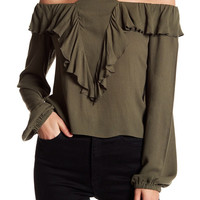 Free Press | Ruffle Halter Blouse | Nordstrom Rack