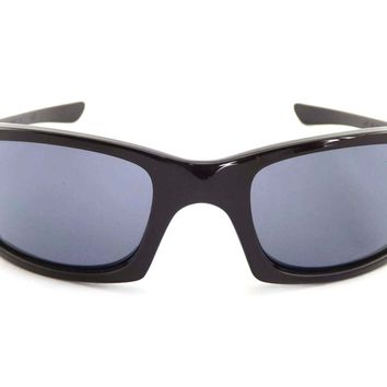 GENUINE OAKLEY FIVES 3.0 Polished Black/Grey 03-430 Ex-display sunglasses.